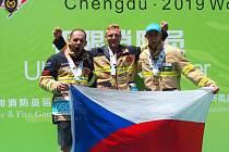 Vítězství v Číně na světových hrách.