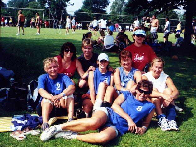 Domažlické volejbalistky v Holandsku