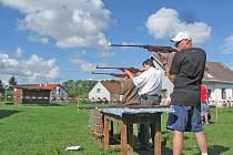 Střelecká soutěž v Otově.