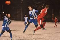 Domažlice (hráči v modrobílých dresech) podlehli Neukirchenu.
