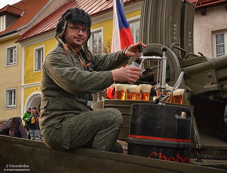Masopust v Klenčí pod Čerchovem.