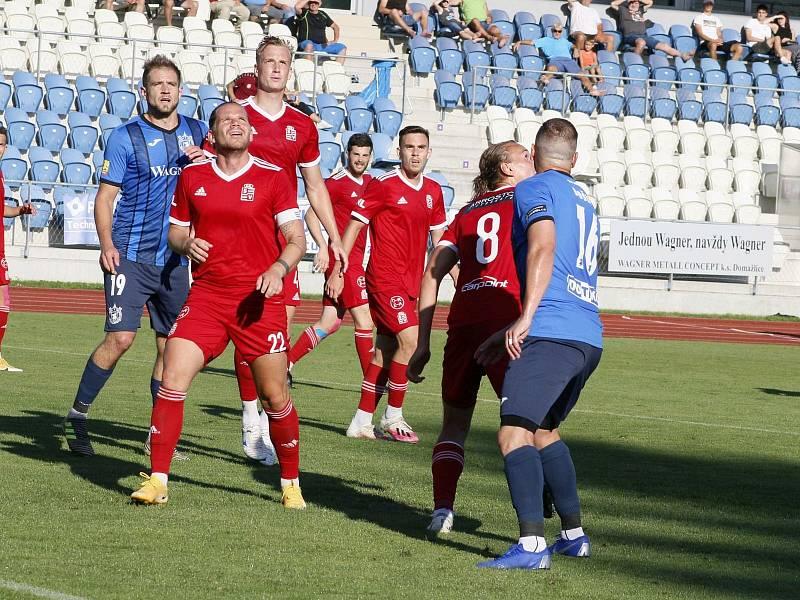 TJ Jiskra Domažlice - Slavoj Vyšehrad 3:1.
