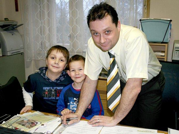 Ředitel školy Vladimír Foist.