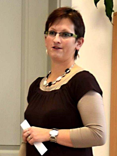 Lenka Ticháčková, předsedkyně Univerzální chodské organizace Tlumačov (UCHO).