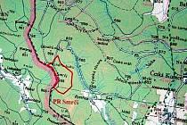 Nová přírodní rezervace Smrčí se nachází v sousedství státní hranice se SRN.