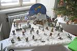 Vánoční výstava a betlémy v Trhanovském zámku.