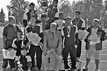 Hostouňští vítězové hostouňské olympiády