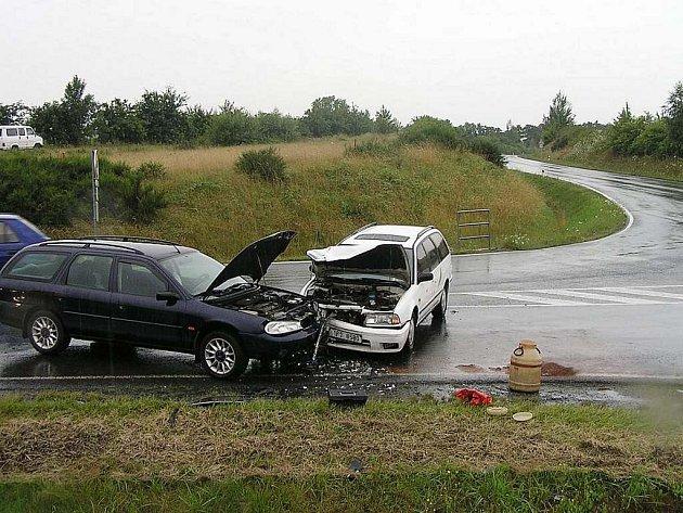 Pondělní nehoda u Havlovic