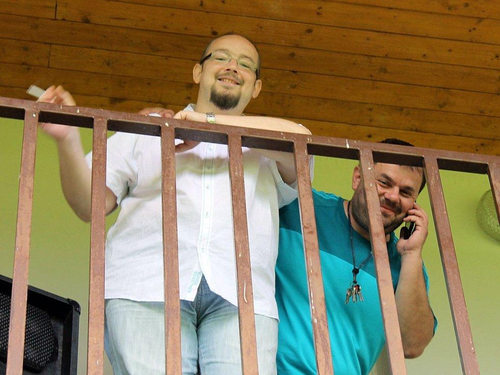 Z utkání mezi fotbalisty Spartak Klenčí A a FC Dynamo H. Týn B.