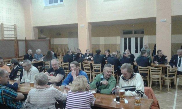 SDH ze Všerub se na poslední valné hromadě poohlédl za činnost jednotky vroce 2017.