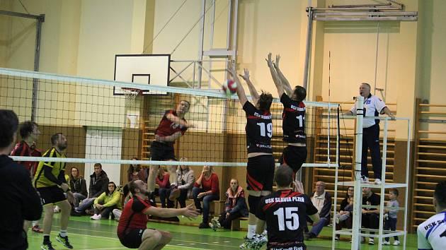 Domažličané v minulém domácím dvojutkání zdolali Plzeň dvakrát 3:1.