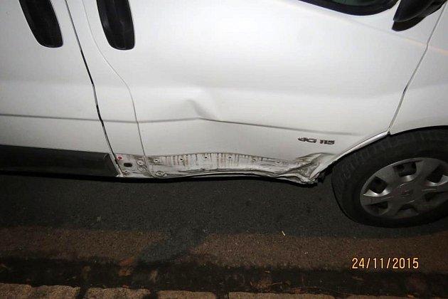 Zdopravní nehody vMasarykově ulici vDomažlicích.