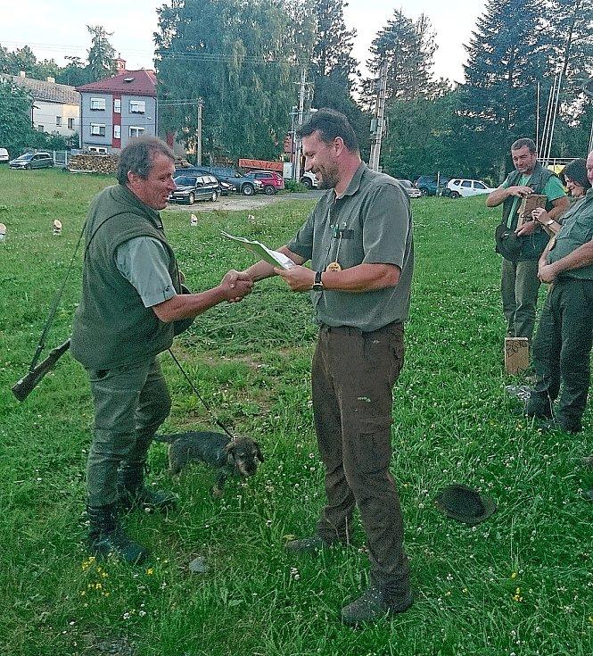 Po dvouleté pauze se znovu uskutečnily lesní a barvářské zkoušky.