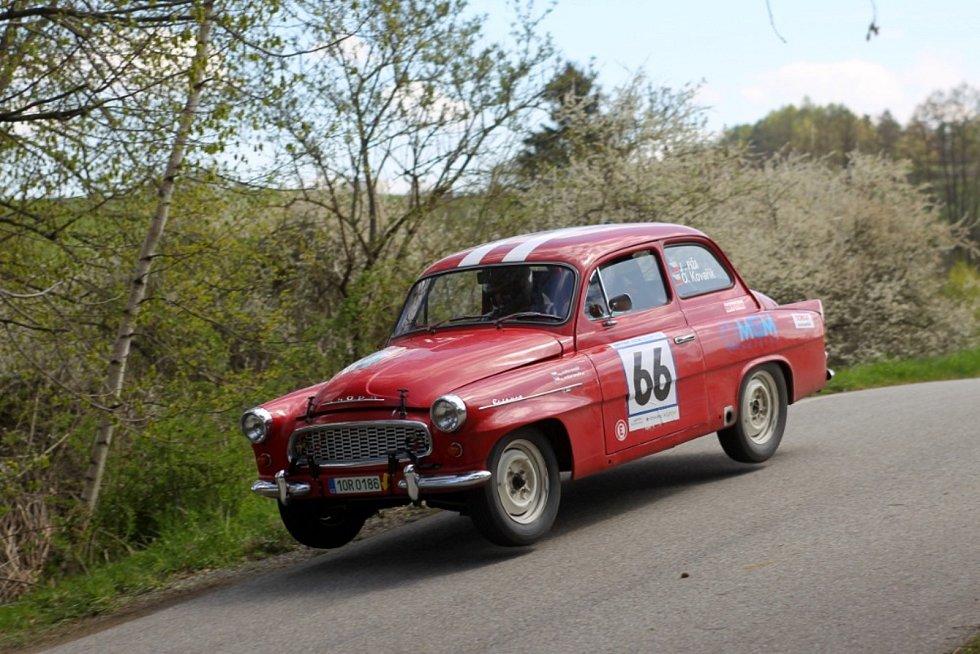 Oldřich Kovařík st. – Josef Píža (Škoda Octavia TS): Škodovácký soutěžní Touring Sport na bázi první generace octavie dovezlo chodovské duo na celkově 39. místě Historic Rallye Vltava 2021.