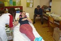 Horšovskotýnští studenti darovali krev.