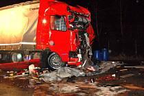 Nehoda kamionů v Babylonu