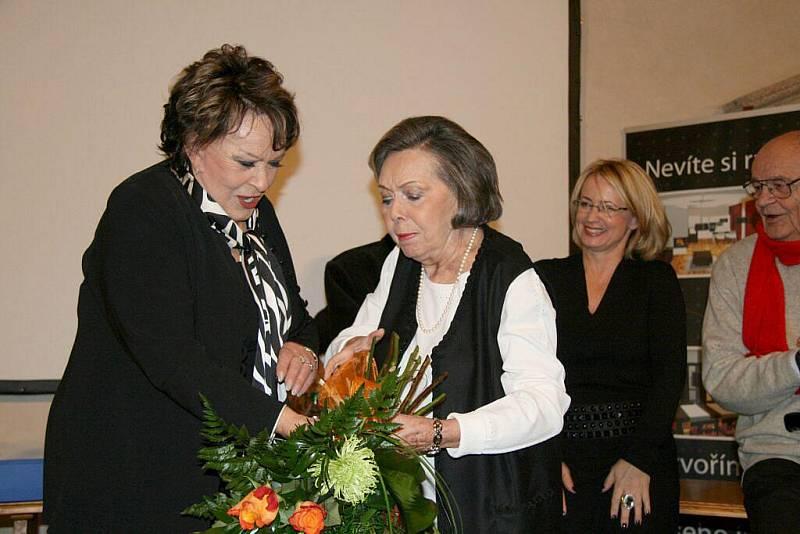 Jiřina Bohdalová na Juniorfestu.