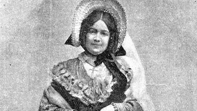 Hana Kvapilová na historickém snímku.