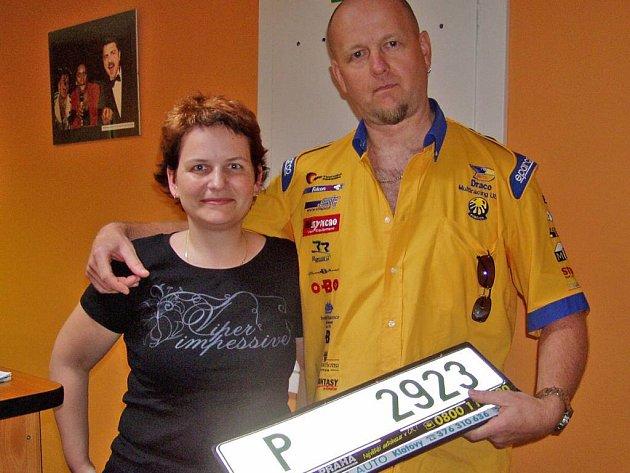 Jan Kuška s programovou ředitelkou rádia FM Plus