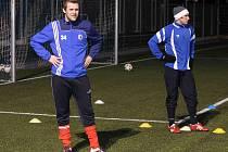 Začátek zimní přípravy fotbalistů Jiskry Domažlice.