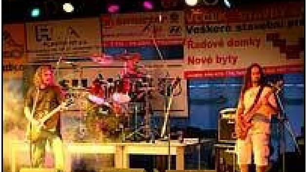 Vystoupení kapely Jakobič v Horšovském Týně