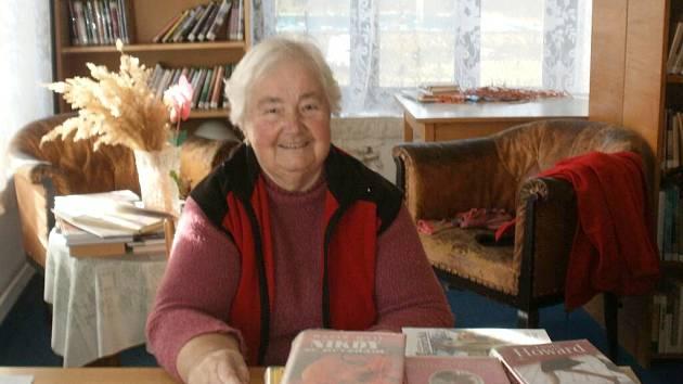 MARIE BULÍŘOVÁ byla knihovnicí v Chodské Lhotě přes třicet let.