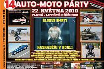 Pozvánka na Auto moto párty.