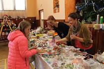 Vánoční výstava v Tlumačově nabídla široký sortiment.