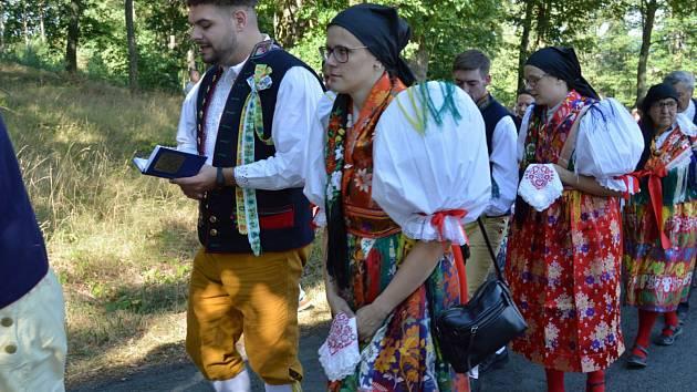 Vavřinecká pouť v rámci Chodských slavností 2018.Sobotní mši celebroval pražský arcibiskup Dominik Duka.