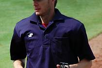 Baseballový rozhodčí Miroslav Kaigl.