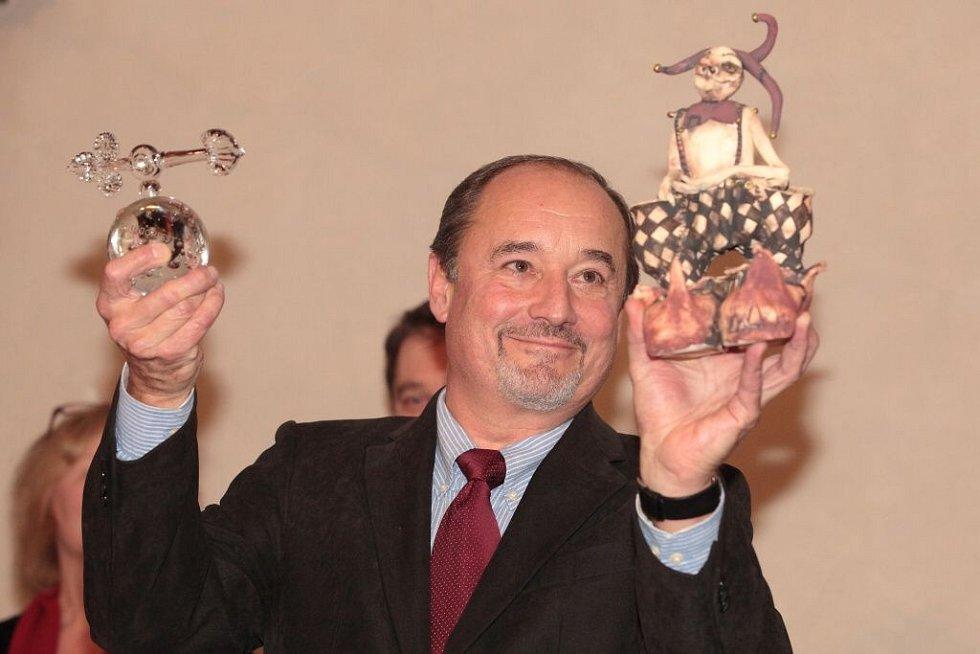 Viktor Preiss převzal ocenění v Horšovském Týně.
