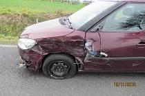 Nehodu způsobil zajíc.