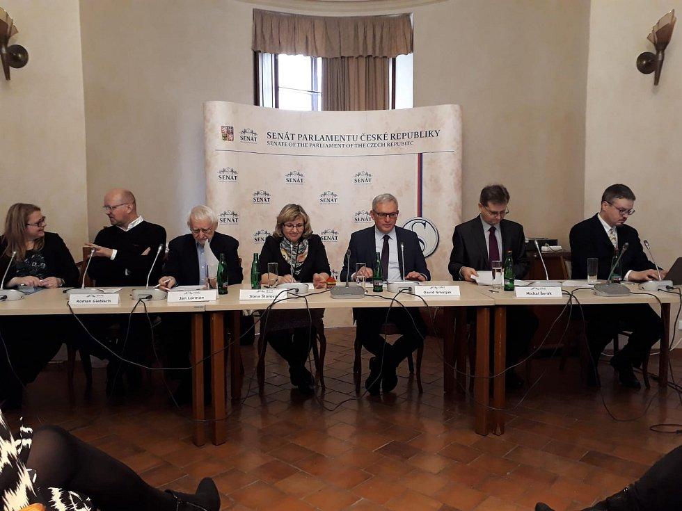 Konference v pražském Senátu. Foto: H. Hoffmannová