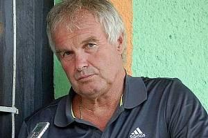 Trenér Zdeněk Michálek.