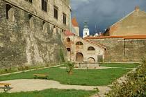 Jižní zahrada zámku v Horšovském Týně.