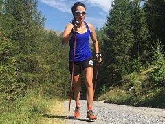 Olympionička Razýmová ladí formu v horách.