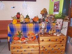 Děti v domažlické školce se chystají na Halloween