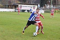 Fotbalisté Domažlic nedali v posledním utkání podzimu gól a prohráli.