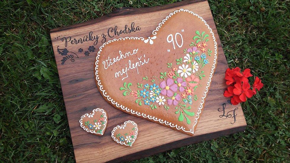 Perníčky z Chodska jsou novinkou letošních Chodských slavností.