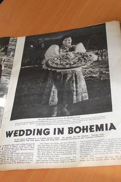 Chodská svatba včasopisu Picture Post.