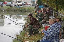 Rybářské závody Milavče v sobotu 2. října.