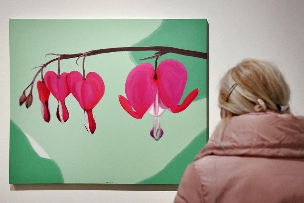 Václav Sika měl loni výstavu v Galerii města Plzně a nesla název Od ornamentu k realitě.