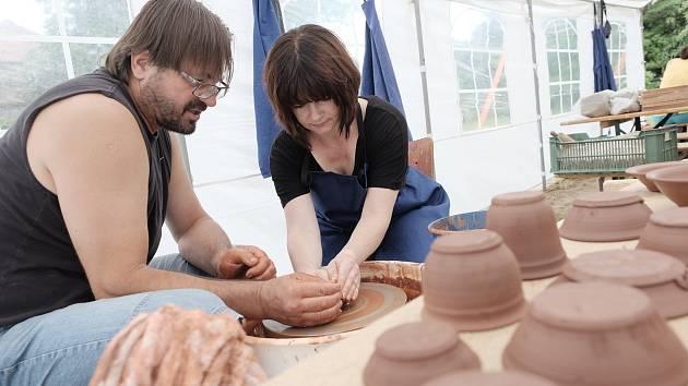 Zahájení keramického sympozia v Domažlicích