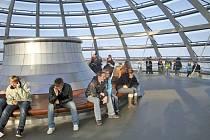 Horšovskotýnští školáci v Berlíně.