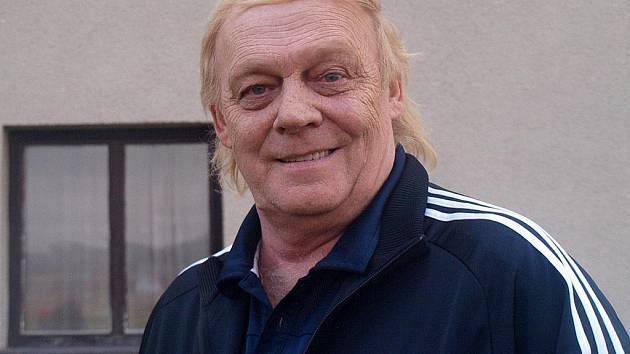 Fotbalový trenér Karel Krejčí.