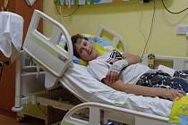 David Lazna z Meclova ve třinácti letech vážně onemocněl. Lékaři mu diagnostikovali akutní druh leukémie.