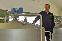 Bohuslav Hlavsa, sládek Koutského pivovaru.