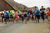 NA STARTU BĚHU KOUTEM. V Koutě na Šumavě se v sobotu na startu sešlo 213 závodníků všech věkových kategorií.