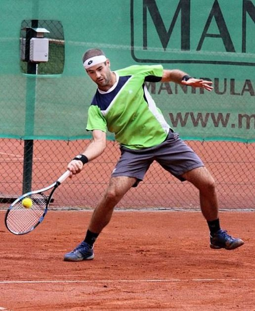 Vítěz loňského ročníku Michal Franěk zTC Realsport Nymburk.