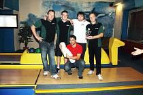 Vítězové Domažlické bowlingové ligy 2012, tým H + H.